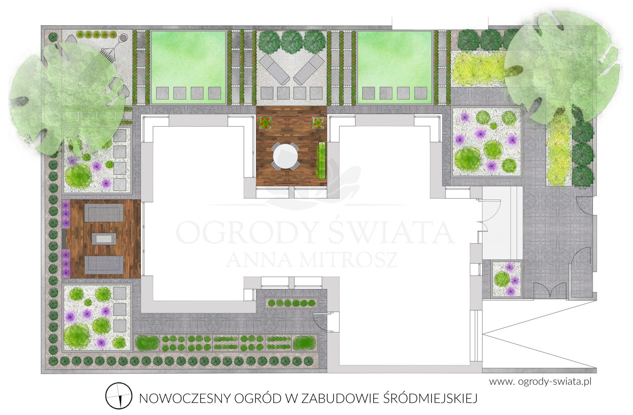 projekt ogrodu białystok