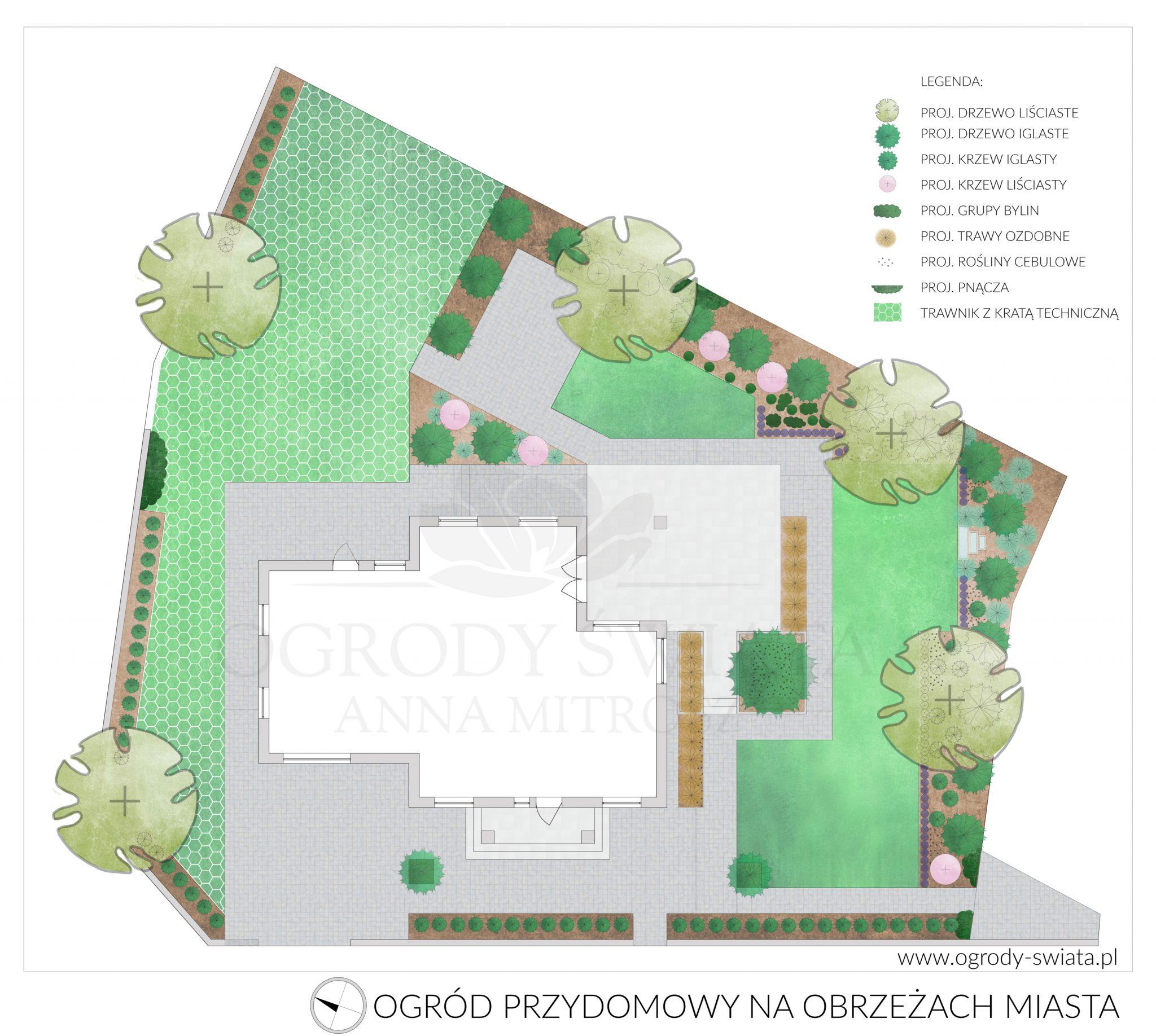 projekty ogrodów białystok